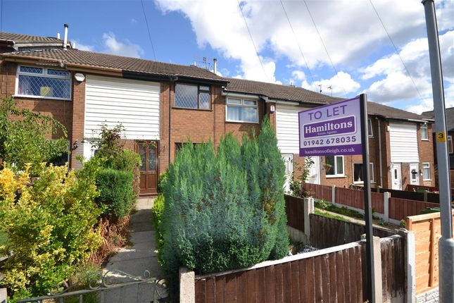 Thumbnail Terraced house to rent in Braeburn Court, Leigh
