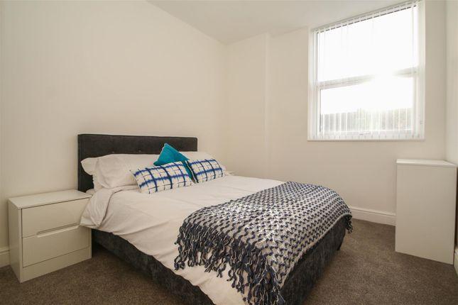 Bedroom of Huntington House, Princess Street, Bolton BL1