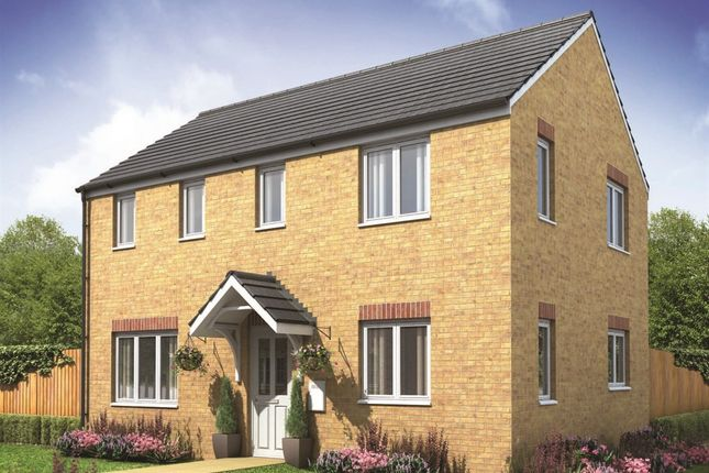 "Thumbnail Detached house for sale in ""The Clayton Corner"" at Pendderi Road, Bynea, Llanelli"