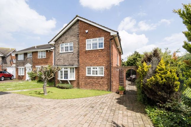 Thumbnail Detached house for sale in The Elkins, Marshalls Park, Romford