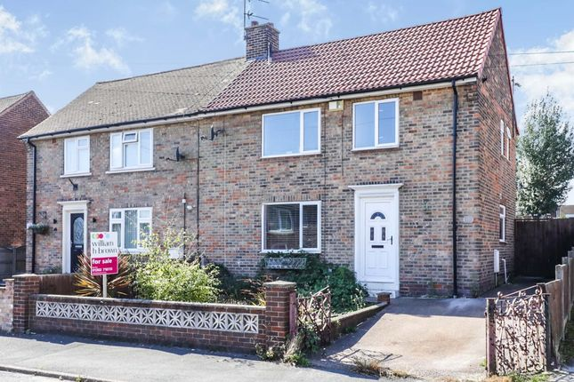 3 bed semi-detached house for sale in Sherwood Road, Harworth, Doncaster DN11