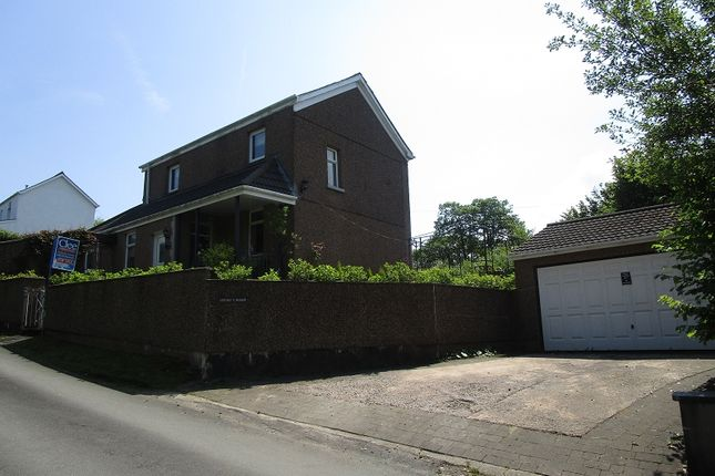Thumbnail Detached house for sale in Heol Tredeg, Upper Cwmtwrch, Swansea