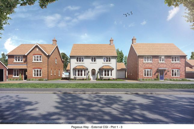 Thumbnail Detached house for sale in Millway Furlong, Haddenham, Aylesbury
