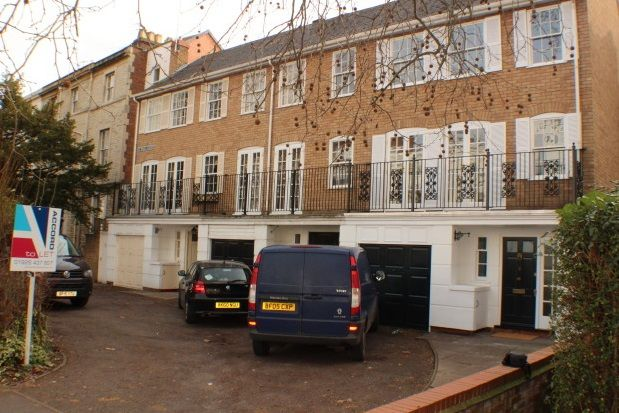 Thumbnail Town house to rent in Willes Road, Leamington Spa
