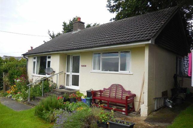 Thumbnail Bungalow for sale in Cefnllwyd, Aberystwyth, Ceredigion