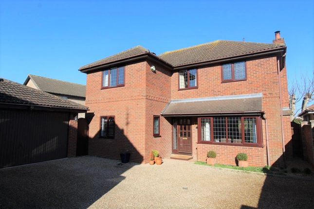 Thumbnail Detached house for sale in Centaury Close, Stanway, Colchester