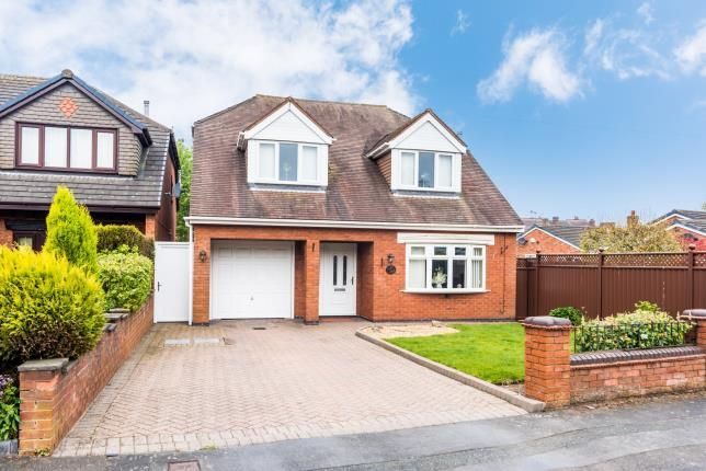 Thumbnail Detached house for sale in Woodfield Drive, Norton Canes, Cannock, Staffordshire