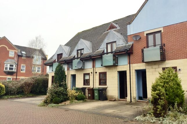 Thumbnail Terraced house to rent in Jackman Close, Abingdon