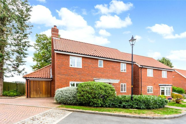 Thumbnail Detached house for sale in Rosemary Close, Great Bedwyn, Marlborough, Wiltshire