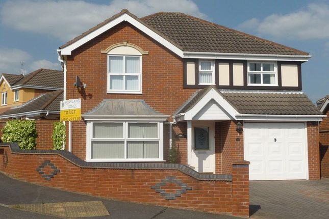 Thumbnail Detached house to rent in Thorpe Downs Road, Church Gresley, Swadlincote