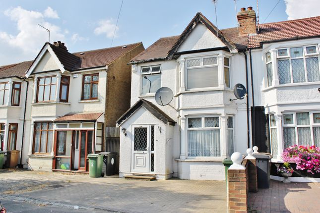 Thumbnail End terrace house for sale in Hall Lane, Chingford
