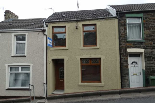 Thumbnail Terraced house to rent in High Street, Mountain Ash, Rhondda Cynon Taf