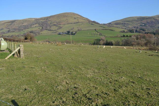 Thumbnail Land for sale in Llan, Llanbrynmair, Powys