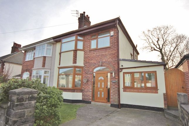 Thumbnail Semi-detached house for sale in Kirkway, Bebington, Wirral