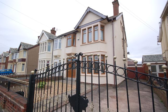 Thumbnail Semi-detached house for sale in Napier Avenue, Blackpool