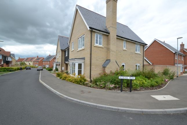 Thumbnail Link-detached house for sale in Burns Way, Thaxted, Dunmow