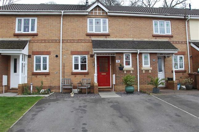 Thumbnail Terraced house for sale in Rowland Drive, Caerphilly