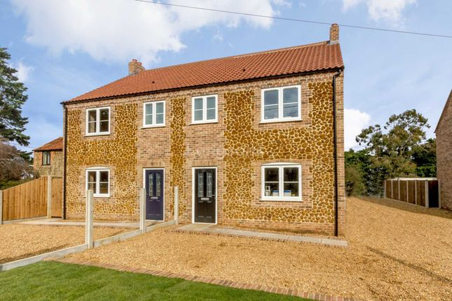 Thumbnail Semi-detached house to rent in Back Lane, Pentney