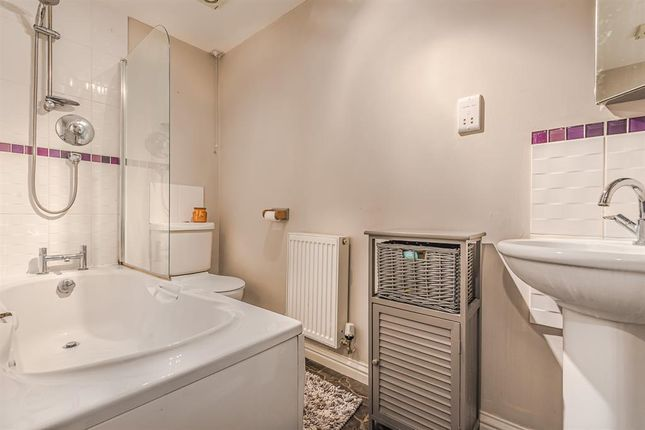 Bathroom With Separate Shower Over
