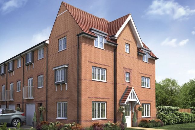 """Thumbnail Semi-detached house for sale in """"Brentwood"""" at Bruntcliffe Road, Morley, Leeds"""