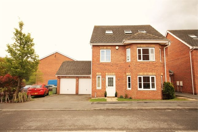 Thumbnail Detached house for sale in Cardinal Way, Clipstone Village, Mansfield, Nottinghamshire