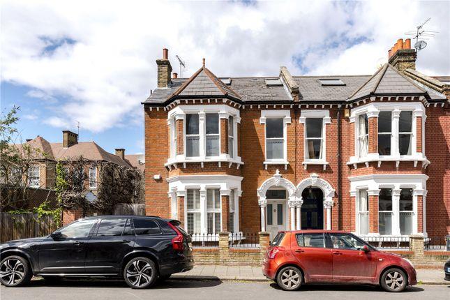 Thumbnail End terrace house for sale in Elms Crescent, London