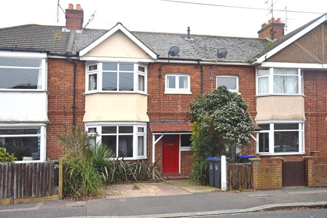 Thumbnail Terraced house to rent in St. Elmo Road, Worthing