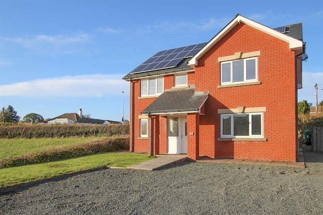 Thumbnail Detached house for sale in Llewellyn Close, Cilmery, Builth Wells