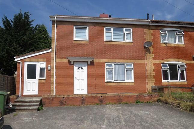 Thumbnail Semi-detached house for sale in Fardre Crescent, Church Village, Pontypridd