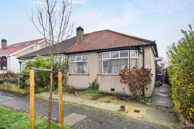 Thumbnail Semi-detached bungalow for sale in Repton Avenue, Wembley, Middlesex