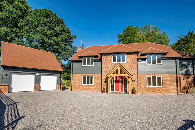 Thumbnail Detached house for sale in Whitehouse Road, Woodcote, Reading