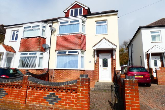 Thumbnail Semi-detached house to rent in Coleridge Road, Portsmouth