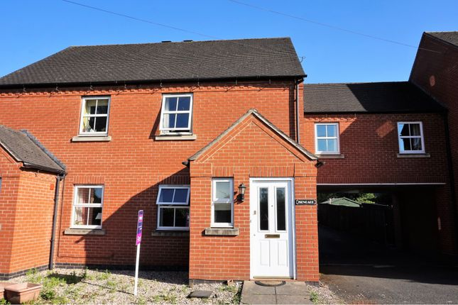 Thumbnail Semi-detached house for sale in Marton Road, Shrewsbury