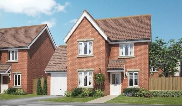 Thumbnail Link-detached house to rent in Parsonage Road, Hilperton, Trowbridge