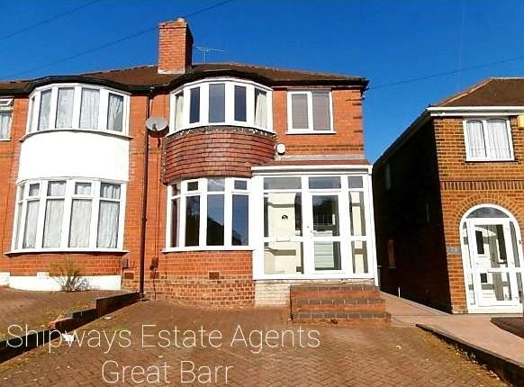 Thumbnail Property to rent in Thetford Road, Great Barr, Birmingham