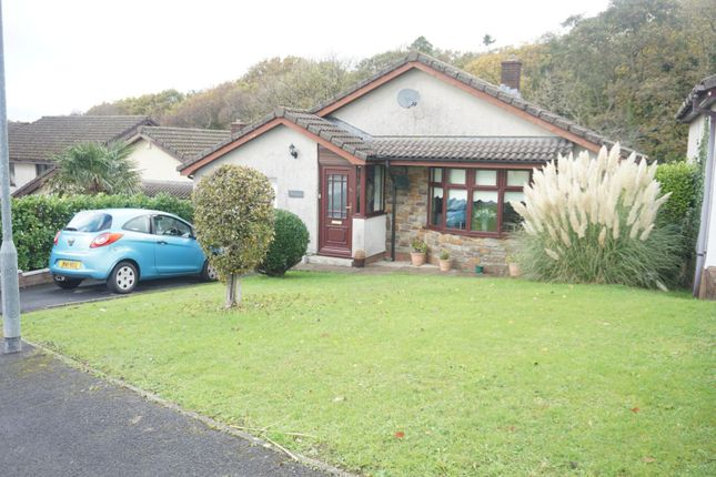 Thumbnail Detached bungalow for sale in The Meadows, Neath