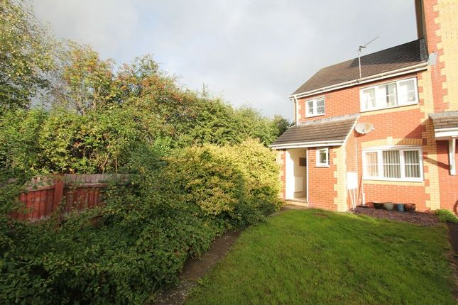 Thumbnail Semi-detached house for sale in Llwyn David, Barry
