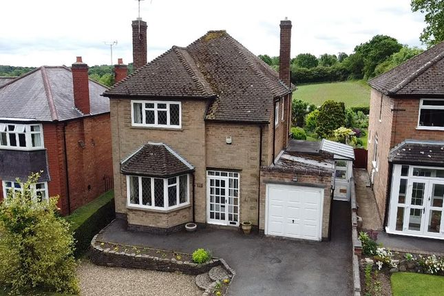 Thumbnail Detached house for sale in Markfield Lane, Newtown Linford, Leicester