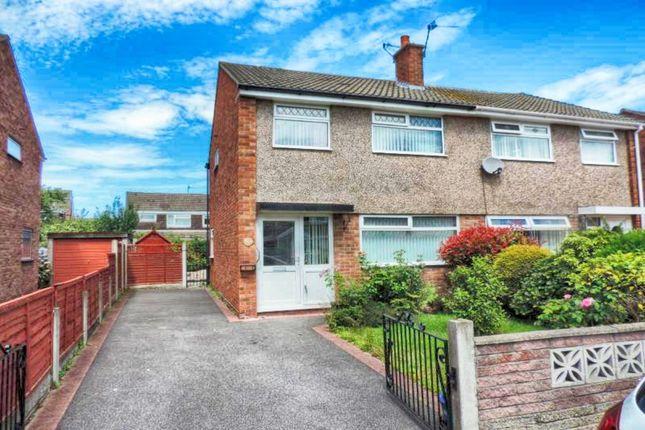 Thumbnail Semi-detached house to rent in Archers Way, Great Sutton, Ellesmere Port
