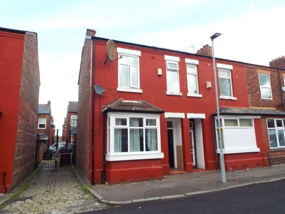 Thumbnail End terrace house for sale in Brailsford Road, Manchester, Greater Manchester