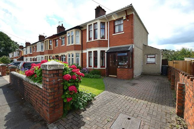 Thumbnail Semi-detached house for sale in Grafton Terrace, Rhiwbina, Cardiff.