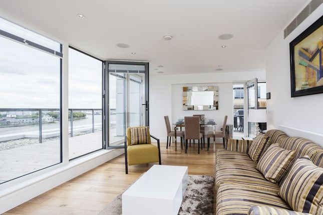 Thumbnail Flat to rent in Canary View, 23 Dowells Street, Greenwich, London