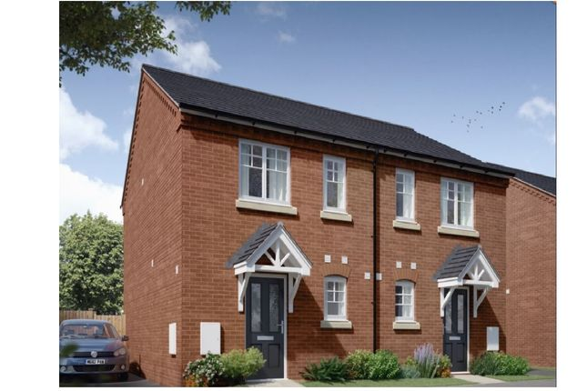 2 bed semi-detached house for sale in Weavers Way, Stockton, Southam