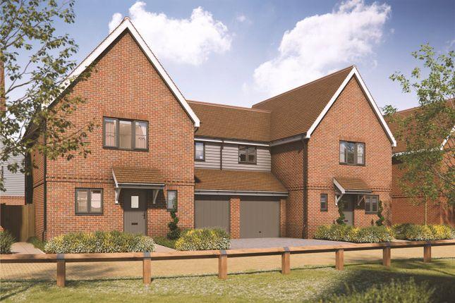 Thumbnail Semi-detached house for sale in Piggott Close, Melbourn, Cambridgeshire