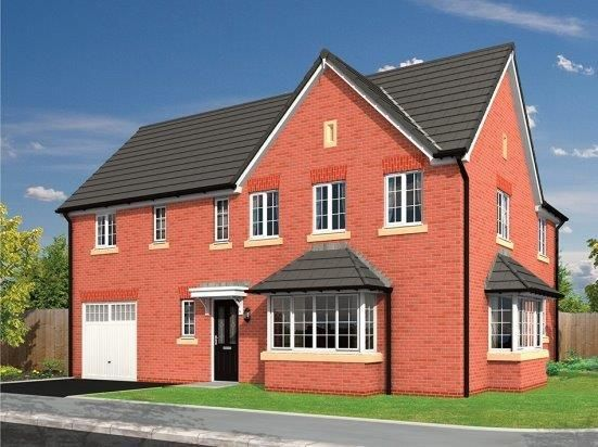 Thumbnail Detached house for sale in Lawton Green, Alsager