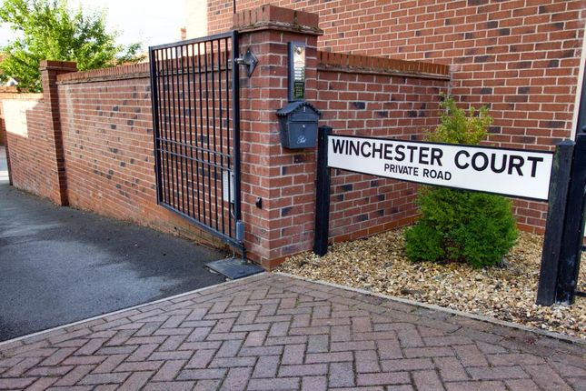 Thumbnail Detached house for sale in Winchester Court, Weston, Crewe
