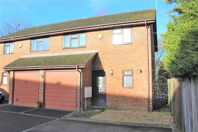 Semi-detached house for sale in Cordelia Gardens, Ash Vale, Surrey