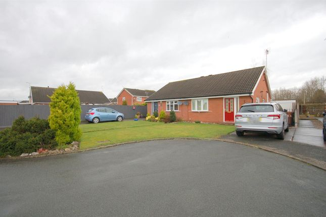 Thumbnail Semi-detached bungalow for sale in Hayling Close, Crewe