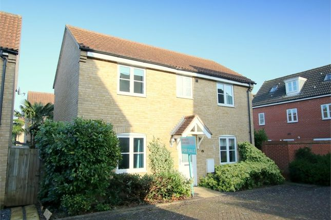 Thumbnail Detached house for sale in Flawn Way, Eynesbury, St. Neots