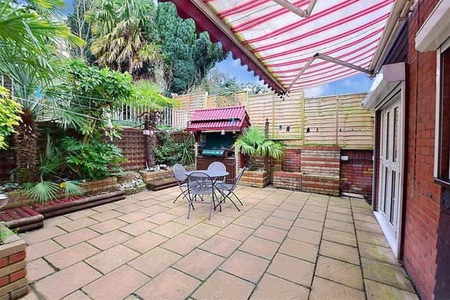 Patio / Decking of Constitution Road, Chatham, Kent ME5